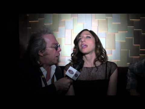 Chelsea Perretti at the Just for Laughs Festival in Montreal with Jeffrey Gurian!
