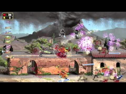 Serious Sam: Double D Delivers Manic Side-Scrolling Action