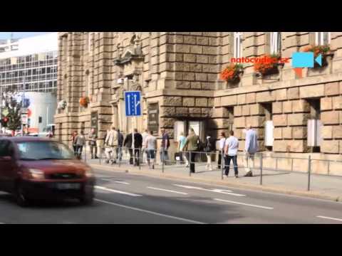 Příjezd neznámé návštěvy s Pražskou ochrankou v Brně