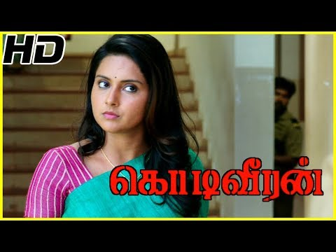 Sasikumar searches groom for his sister | Kodiveeran Scenes | Sasikumar awestruck on seeing Mahima
