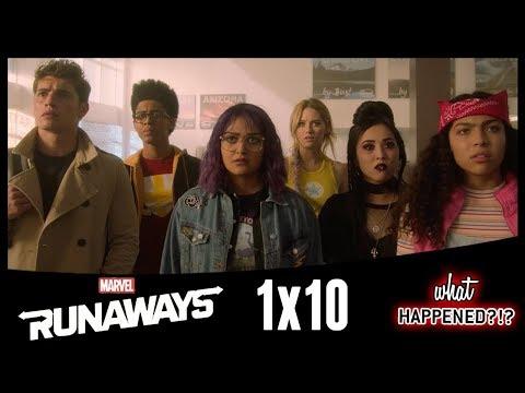 MARVEL'S RUNAWAYS Episode 10 Recap - Season 1 Ending Explained & Theories   What Happened?!?
