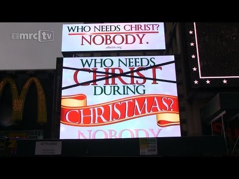 The Atheist Christmas Billboard
