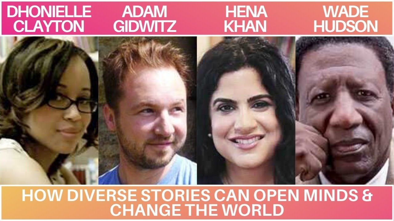 How Diverse Stories Can Open Minds & Change the World