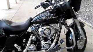 7. 2007 Harley-Davidson Street Glide FLHXI Vance & Hines pipes Hear it run!!