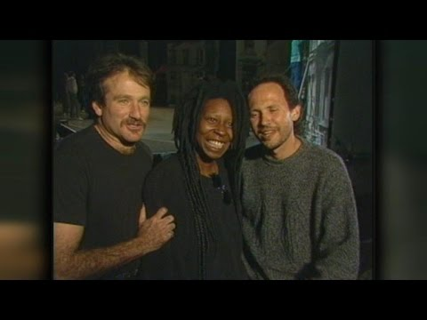 whoopi - ET was with Robin Williams, Billy Crystal and Whoopi Goldberg many times over the years and we dove into our vault to show their close friendship.