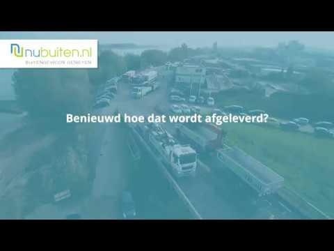 Excluton | Amsterdammertje groot 105cm | Antraciet