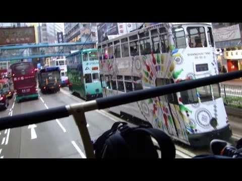 Tour de ônibus por Hong-Kong
