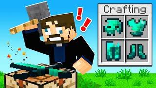 Crafting GLITCH ARMOR in Minecraft SkyFactory