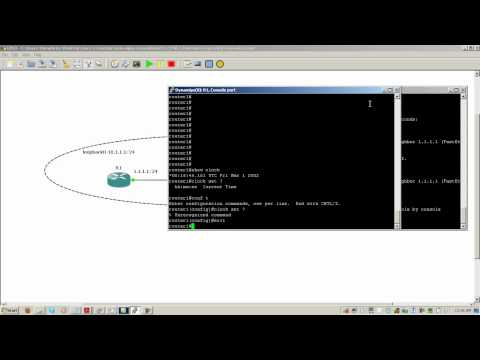 Setting router clocks and NTP servers (видео)