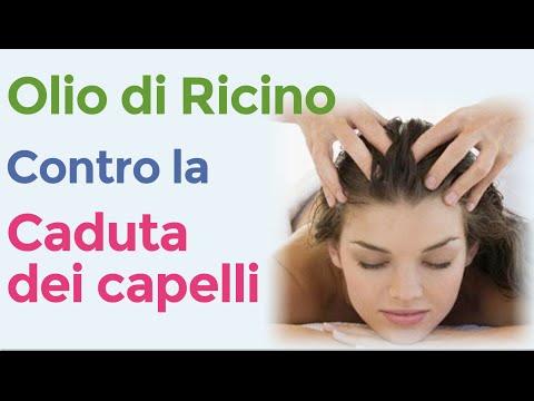 olio di ricino per fermare la caduta dei capelli - rimedio naturale