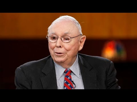 Berkshire Hathaway VP Charlie Munger On Investing