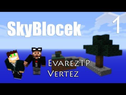 Minecraft: SkyBlocek #1 - Gejnerator kojbla - Vertez & EvarezTP
