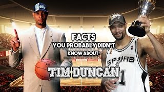 20 Facts You Probably Didn't Know About Tim Duncan by Total Pro Sports