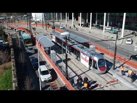 Tramvia Firenze, il primo viaggio di Sirio sulla Linea 3