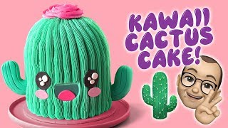 How TO Make A Kawaii Cactus Cake- The Scran Line