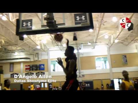UA #GRINDSESSIONS: D'Angelo Allen with breakaway dunk