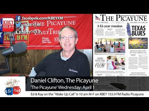Daniel Clifton joins us for The Picayune Wednesday: April 1