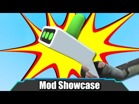 Garrys Mod - Garry's Mod  CRAZY Rick And Morty Portal Dimension Gun!  Mod Showcase
