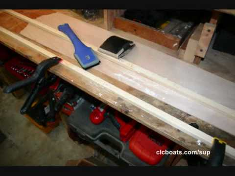 Building the Chesapeake Light Craft Kaholo Stand-Up Paddleboard : Part 1
