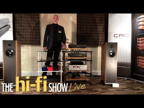 Quadraspire Demonstrate X Reference HiFi Equipment Rack CAD Trilogy Kudos @ Hi-Fi Live Show 2017
