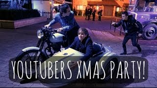 YOUTUBERS CHRISTMAS PARTY! | ThatcherJoe