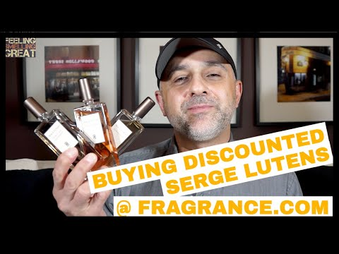 Buying Discounted Serge Lutens Fragrances @ Fragrance.com + First Impressions Of 3 SL Fragrances