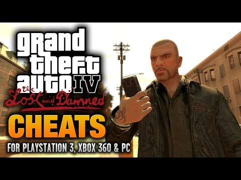 grand theft auto iv the lost and damned pc cheats