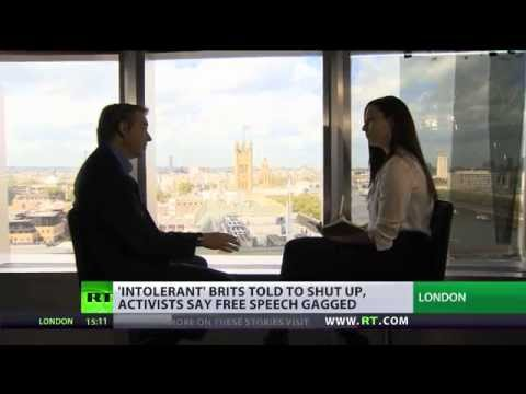 'Shut Up' Culture: UK free speech threatened as protest smothered