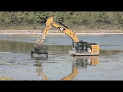 Sludge Removal at Batavia Wastewater Ponds