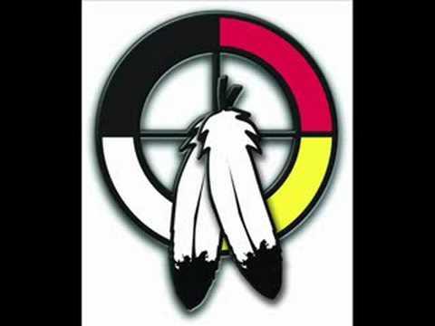 Black Lodge Singers- Honouring the Elders Flag Song