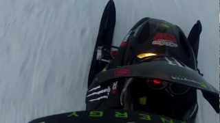5. 2007 Ski-Doo summit 550 riding