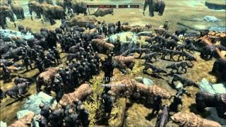 15 Dragons vs 100 Giants, 50 Mammoths, 100 Archers, 200 Wolves / Bears?, 30 Spirit Trolls On Skyrim