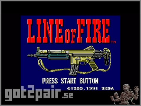 Line Of Fire - Master System