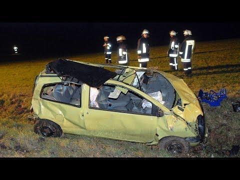 Schwerer Verkehrsunfall am Neujahrsmorgen