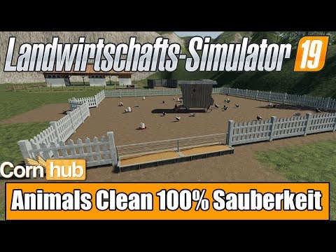 Animals Clean - 100% cleanliness of the animals Script v1.0.0.0