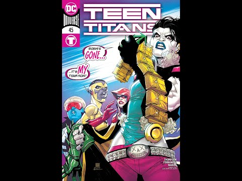 Teen Titans #45 Superboy demands answers review/rant