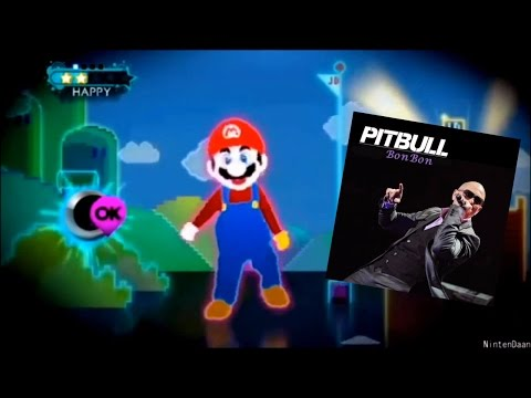 Just Dance 3 Ubisoft meets Nintendo Pitbull   bon bon music video
