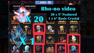 Nonton 20 X 5  Featured Crystals  1 X 6  Basic Crystal Openings Film Subtitle Indonesia Streaming Movie Download
