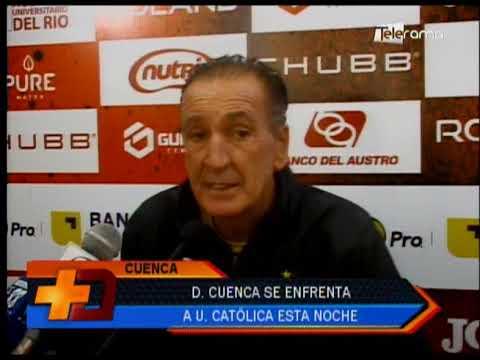 Deportivo Cuenca se enfrenta a Universidad Católica esta noche