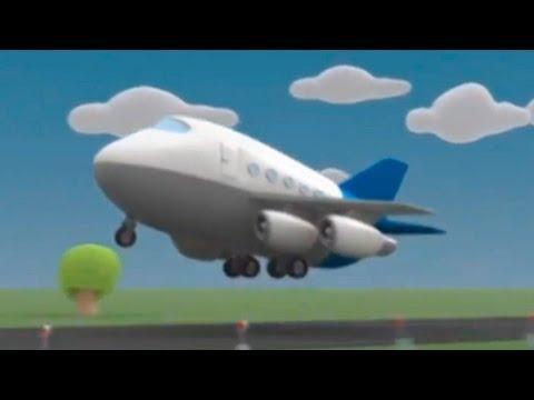 Мультики Детям - Мусти - Полет на Cамолете (видео)