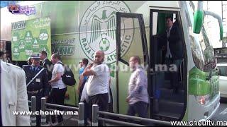 بالفيديو..لحظة وصول وفد فريق وفاق سطيف الجزائري بالدار البيضاء