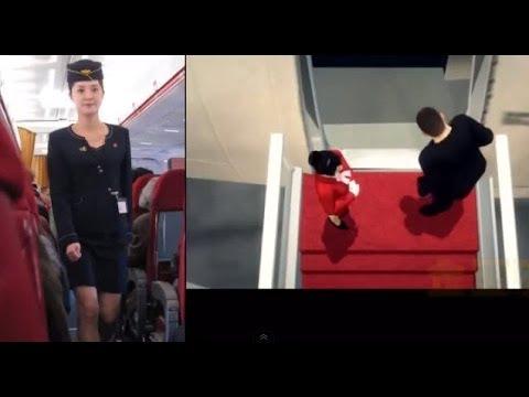 金正恩下令 空姐改穿迷你裙