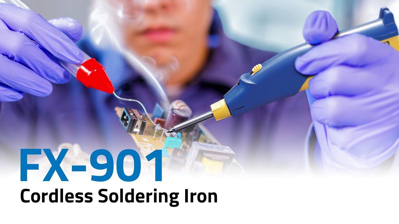 The HAKKO FX-901 Soldering Iron by Sei and Kai