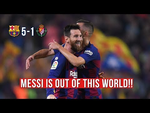 MESSIIIIUU 🐐 TOP OF THE LEAGUE AFTER YET ANOTHER 5 GOAL SHOW | REACTION - REACCIONES