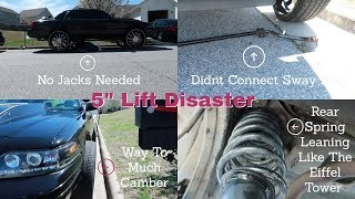 Video Custom Crown Vic 5 inch Lift Disaster Part 2 MP3, 3GP, MP4, WEBM, AVI, FLV Agustus 2019