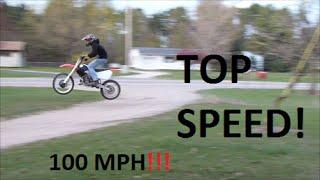 2. Honda CR250 Top Speed Hd Video