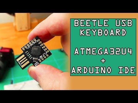 How To Make DIY Keyboard With ATMEGA32U4 Dev Board  From ICStation.com