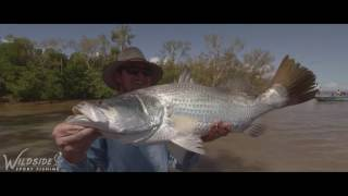Runoff barra fishing