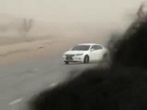 حادث مطنش بالقصيم بعنيزة جديد1432