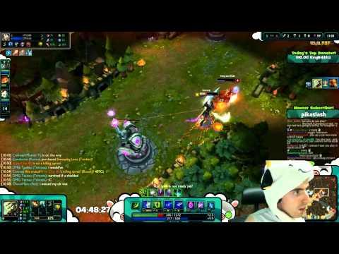 Đỉnh cao Master Yi trong tay Cowsep phản xạ dùng skill né đòn cực kỳ lợi hại!!!